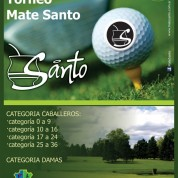 "Torneo de Golf ""Mate santo"""